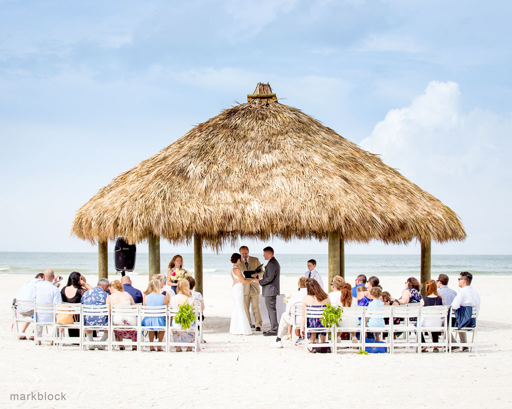 Beach Wedding by Mark Block